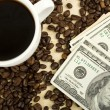 Stock Photo: Rich coffee