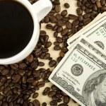 丰富的咖啡 — 图库照片