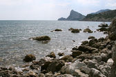 Rocks of the Black Sea coast — Stock Photo