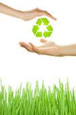 Ochrana životního prostředí — Stock fotografie