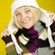 Foto Stock: Winter Woman