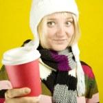 Coffee Girl — Stock Photo #3627860