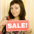 Stock Photo: Sale expectation