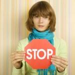 STOP — Stock Photo #3769716