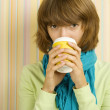 Coffee Girl — Stockfoto #3769760
