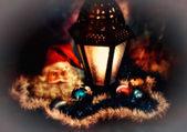 A soft focus low key Christmas concept — Stock Photo