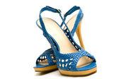 Elegant female shoes — Stock Photo