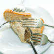 Forks and bread — Stock Photo #3649555