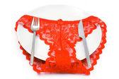 Culotte rouge — Photo