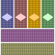 Royalty-Free Stock Vector Image: Complete set of patterns.
