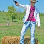 Man with a gun — Stock Photo #3275204