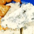 Stock Photo: Danish blue cheese
