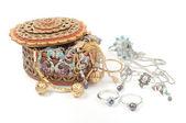 Woman jewelry — Stock Photo