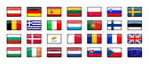 28 EU Countries Flag — Stock Photo