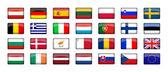 28 EU Countries Flag — Stock Photo