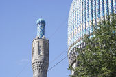 Dome of a mosque against the sky — Stock Photo