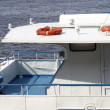 Rescue circles abovedeck ship — Stock Photo