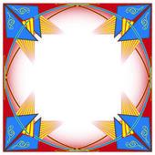 Geometrical decorative pattern — Stock Vector