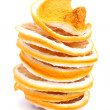Stack of dried fruit — Stock Photo