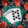 Straight flush — Stock Photo #3045419