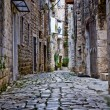Stock Photo: Narrow stone street