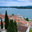 Stock Photo: View at Sibenik town