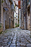 Narrow stone street — Stock Photo