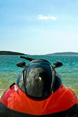 Water jet ski close up — Stock Photo