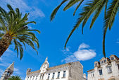 Mediterranean architecture in city of Trogir — Stock Photo