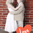 Love concept. Valentine's day or wedding background — Stock Photo