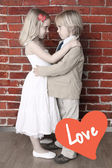 Love concept. Valentine's day or wedding background — Foto Stock
