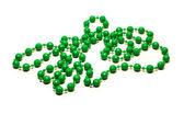 Green necklace — ストック写真