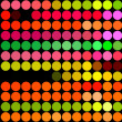 Fluorescent dots - Foto Stock