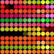 Fluorescent dots - Zdjcie stockowe