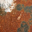 Rusted iron texture - Foto Stock