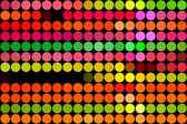 Fluorescent dots — Stock Photo