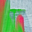 Abstract paint strokes - Stock Photo
