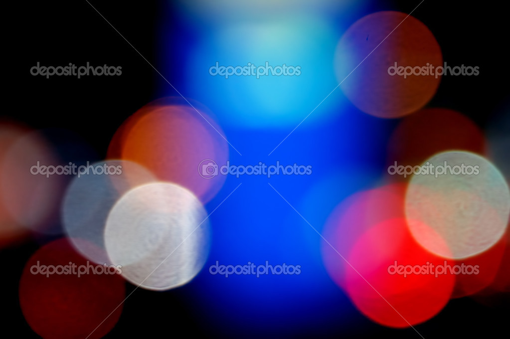 Defocused colorful light dots. Abstract background. — Stock Photo #2793331