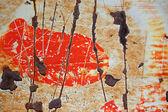 Peinture rayé — Photo