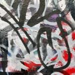 Messy graffiti — Stock Photo