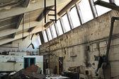 Abandoned factory ruins — Stock Photo