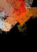 Abstract paint strokes — Stock Photo
