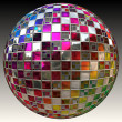 Glitter ball — Stock Photo