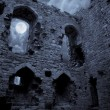 Spooky Halloween castle — Stock Photo #3608906
