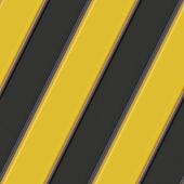 Hazard warning stripes — Stock Photo