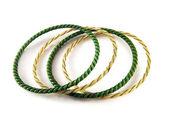 Isolated bracelets — Stock Photo