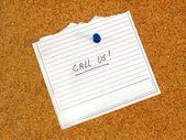 Call us! — Stock Photo