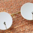 Royalty-Free Stock Photo: Two satellite dishes