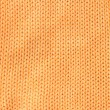 Orange woolen cloth — Stock Photo
