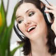 Girl in headphones — Stock Photo #2932775